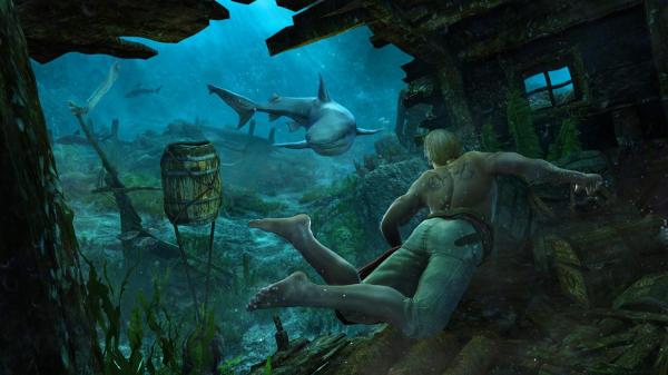 Life on land too easy? Take to the underwater depths for numerous horrors.
