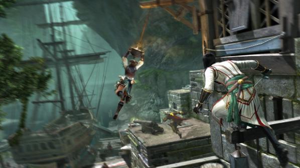 Assassins Creed IV - Multiplayer Gameplay - Manhunt THE