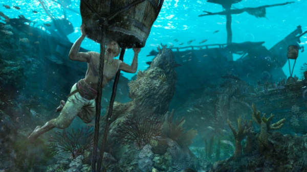 Водолазный колокол - дедушка батискафа и водолазного костюма.