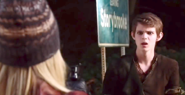 In this promo from next week's episode, we see Henry try to convince Emma  that he and Pan have switched bodies.