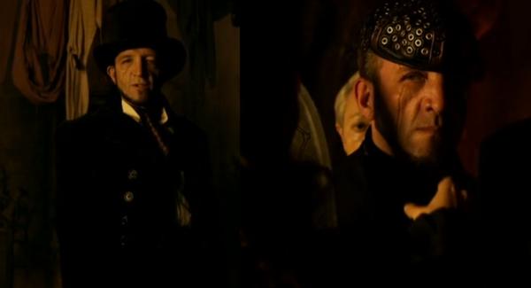 """Bo unmasks the Una Mens executioner when she recognizes his morbid last words """"Mortis Invenio In Unitate"""""""