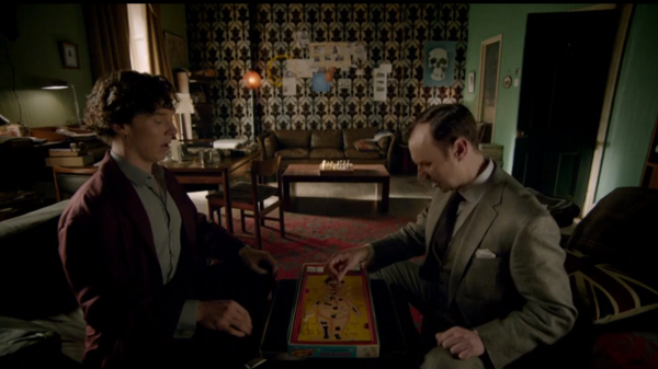 """Can't handle a broken heart? How very telling."" - Sherlock to Mycroft Holmes"