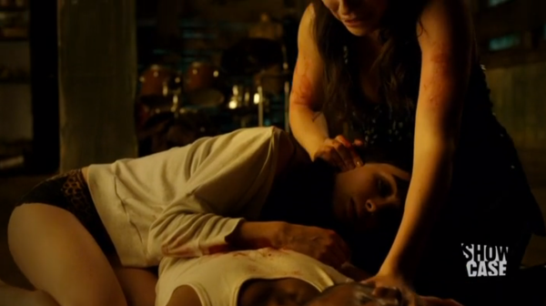 Bo laments her helplessness as all she can do for Kenzi is subdue her with a chi train/touch