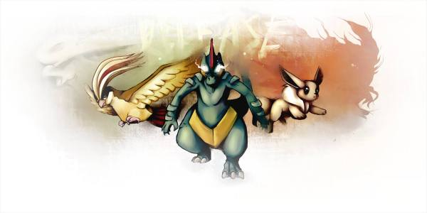 Whether you're Bird Jesus, False Prophet or neither, all are welcome with Feraligatr.