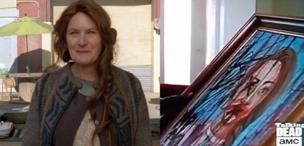 Ok, thats just creepy. The clothing and even the hair braid is almost exact.