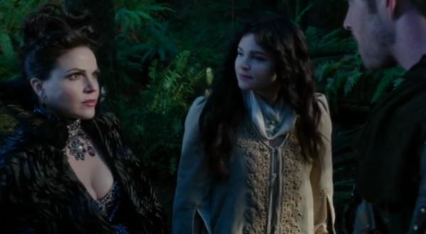 Regina and Robin Hood, sitting in a tree, A-R-G-U-I-N-G!