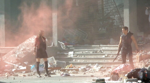 Scarlet Witch makes her first appearance on camera