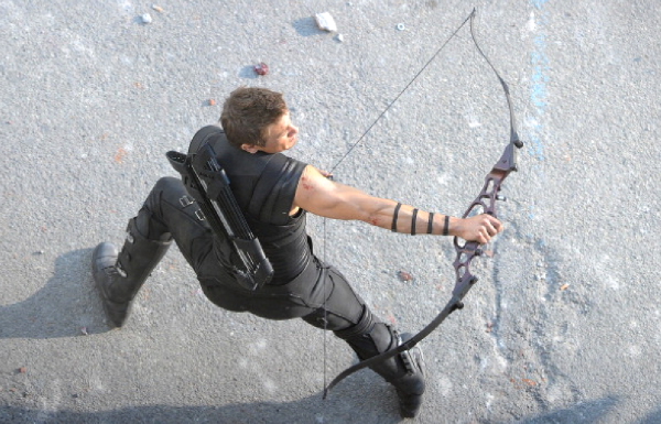 He's still got it. Hopefully Hawkeye doesn't run out of arrows this time around.