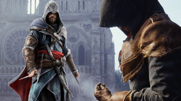 The new Assassin robes seems very similar to that of Ezio's in AC: Revelations