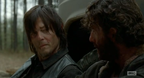 """You're my brother"" - Rick to Daryl"