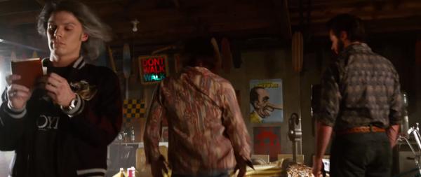 Hank, Logan and Xavier meet Quicksilver