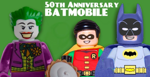 These 3 custom figurines come with the LEGO along with mini-weapons and more!