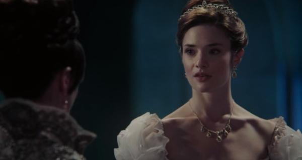 """Princess Eva, she told a secret, just like I did"" - Snow"