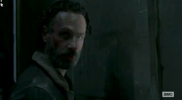 Is it just me, or does Rick look a little bit like the Governor here *cough eyepatch*