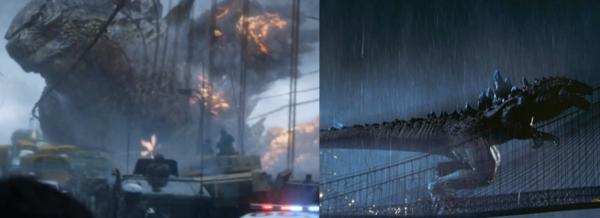 2014 vs 1998 Godzilla