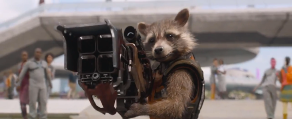 """Oh what the hell, I don't got that long of a lifespan anyway"" - Rocket"