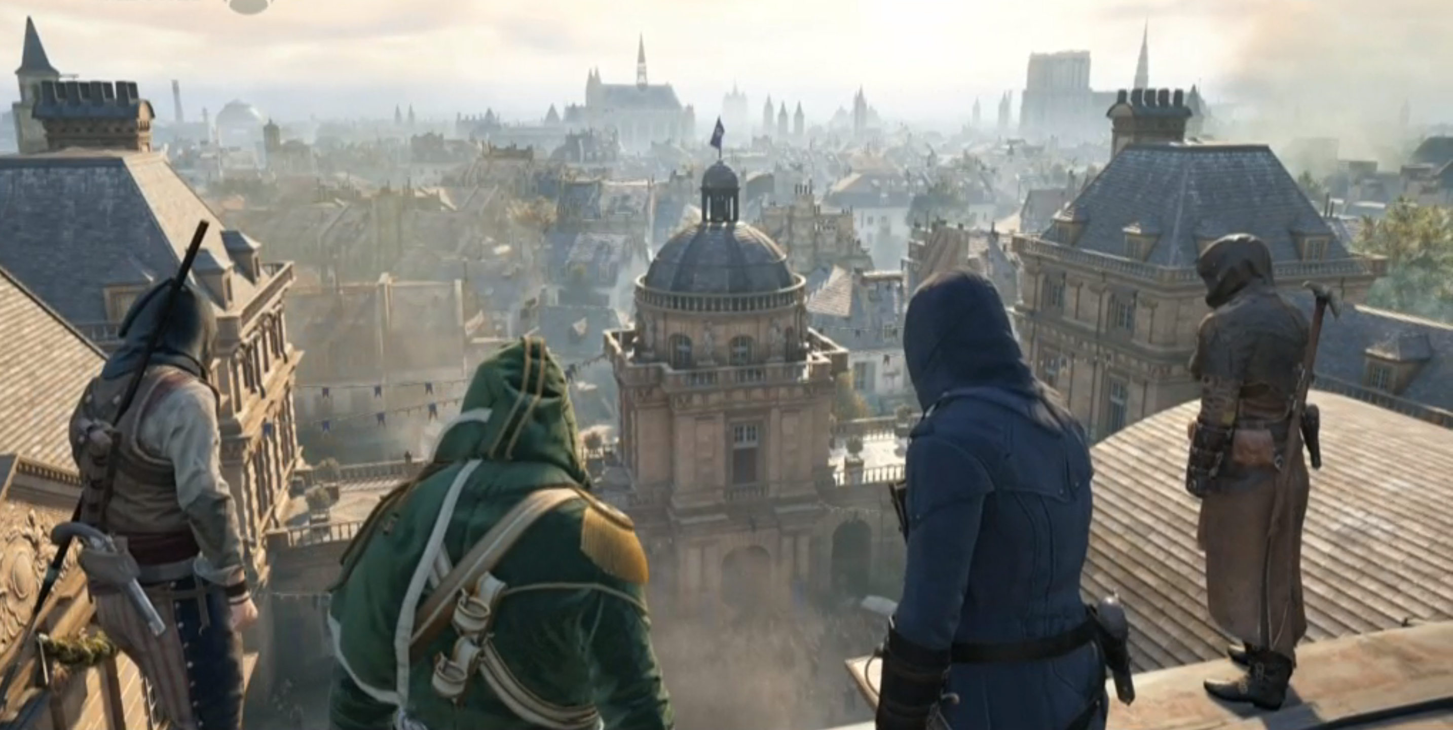 E3 2014 Reveals Story Co-Op for Assassin's Creed: Unity ...