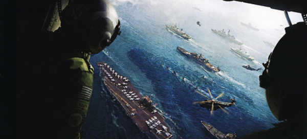 As I've said in my reviews for the film, Godzilla swimming along harmlessly with the boats was such a powerful image
