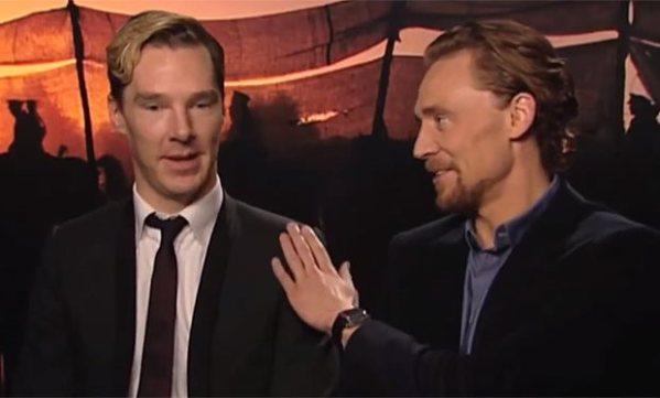 Hiddleston and Cumberbatch
