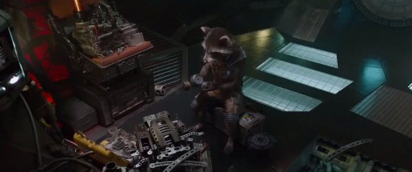 If you thought Rocket was only adorable and homicidal, then get ready to add 'brilliant' to that list
