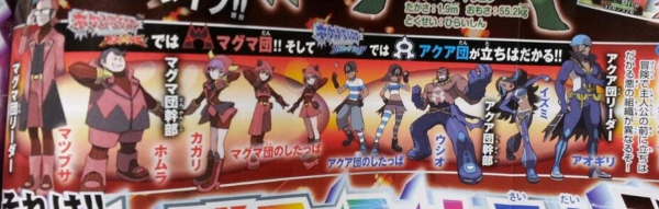 Team Aqua and Magma
