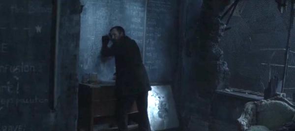 Tom's always got a plan; but not always hidden behind a broken mirror.