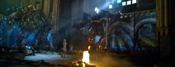 Look at the bright side. At least this Tessa and Bumblebee dance scene was cut out