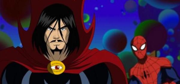 Ultimate Spiderman Doctor Strange