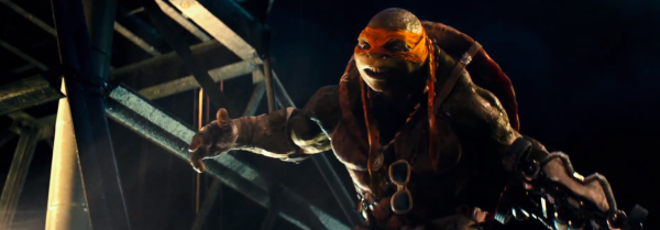 """""""Yahhhhh, We'll find you … I'm sorry, that came across super creepy."""" - Michelangelo"""