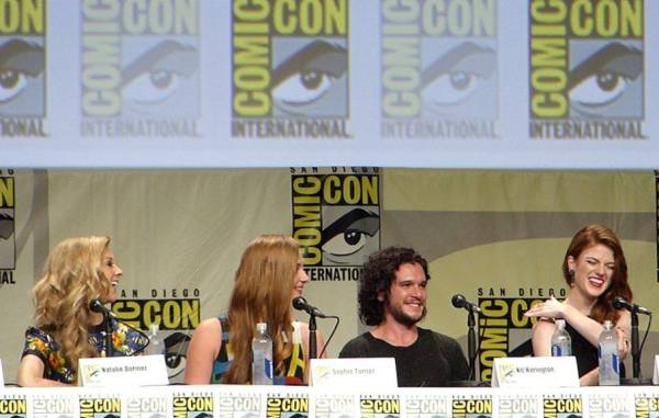 I am so jealous of Kit Harrington right now