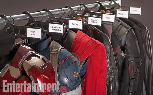 I spy Nick Fury's outfit, so at least we have confirmation on that front.