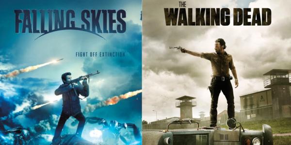 Walking Dead vs Falling Skies