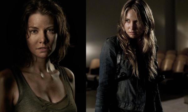 Maggie Walking Dead Falling Skies