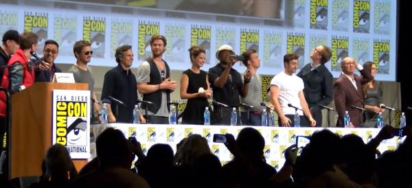 Marvel Panel Avengers
