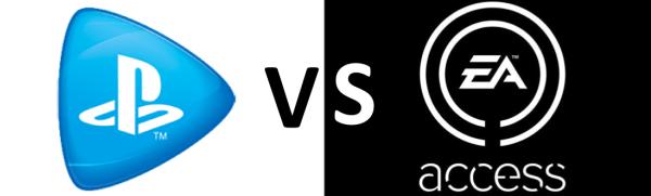 PS Now vs EA Access 2