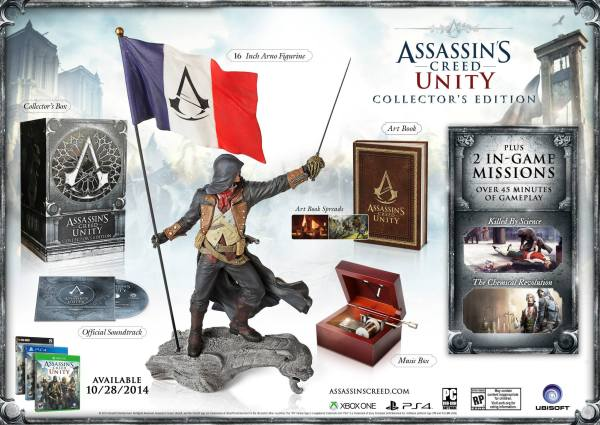 AC Unity Collector Edition
