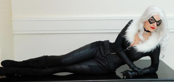 Black Cat from Spiderman - taken by Paul Tien at Katsucon 2013