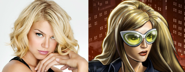 Palicki as Mockingbird