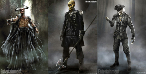 These concept arts of Moloch's, The Kindred and the Pied Piper were released in the San Diego Comic Con Preview issue of Entertainment Weekly