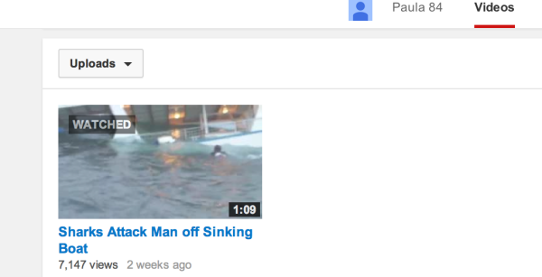 Uploaded 2 weeks ago huh? And this person's only video? Coincidence? Yeah Right!