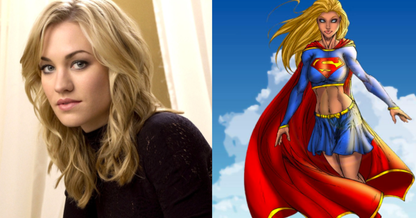 I can't be the only one who thinks Yvonne Strahovski - aka Sarah from Chuck - would be an AWESOME Supergirl. Let's face it, she already is!