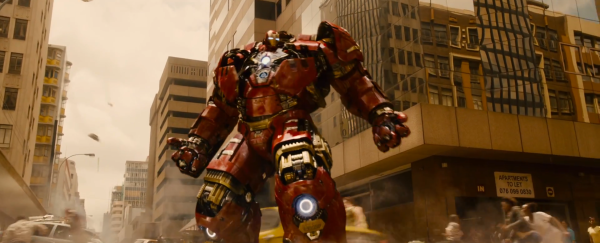Hulkbuster Suits Up Avengers