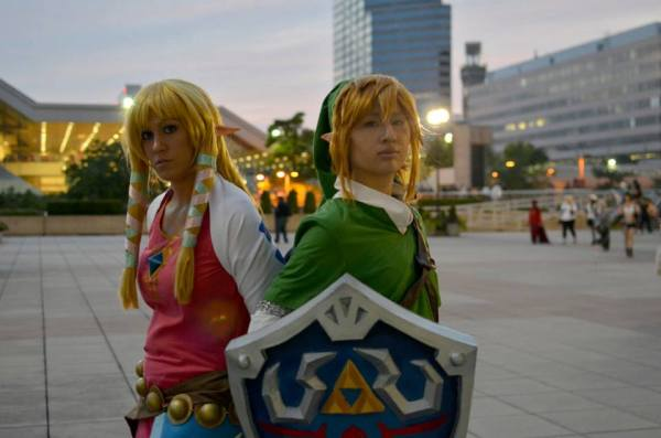 Straight Line Association Link Zelda 2
