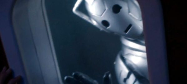 """What can one cyberman do to a plane "" . . . REALLY?!?!?! Did someone seriously just ask that"