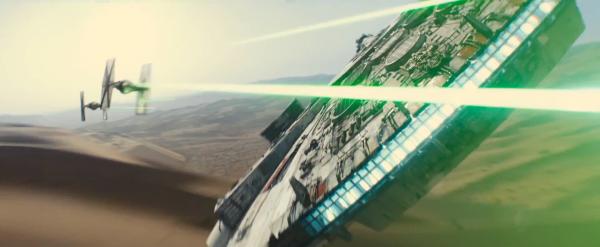 Millenium Falcon Force Awakens