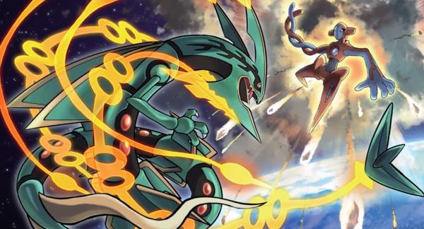 Mega Rayquaza vs Deoxys