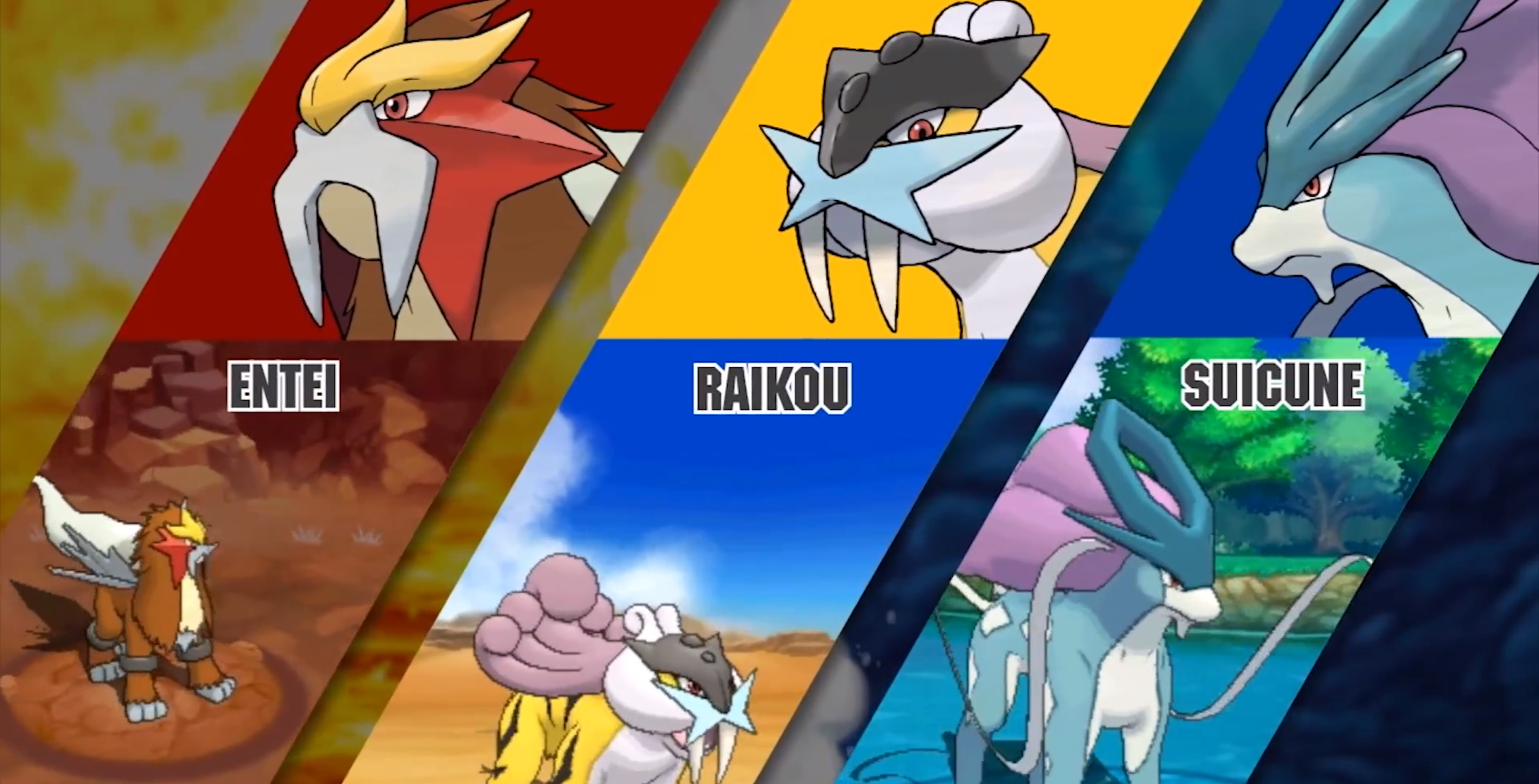 Pokemon Oras Can You Catch All Legendary Dogs