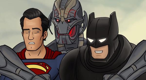 Ultron Batman Superman