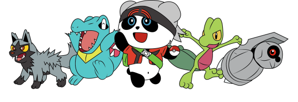My starting team for Pokemon ORAS