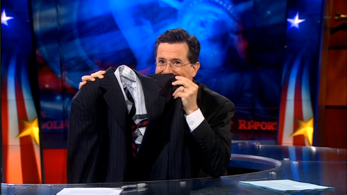 Colbert Laugh